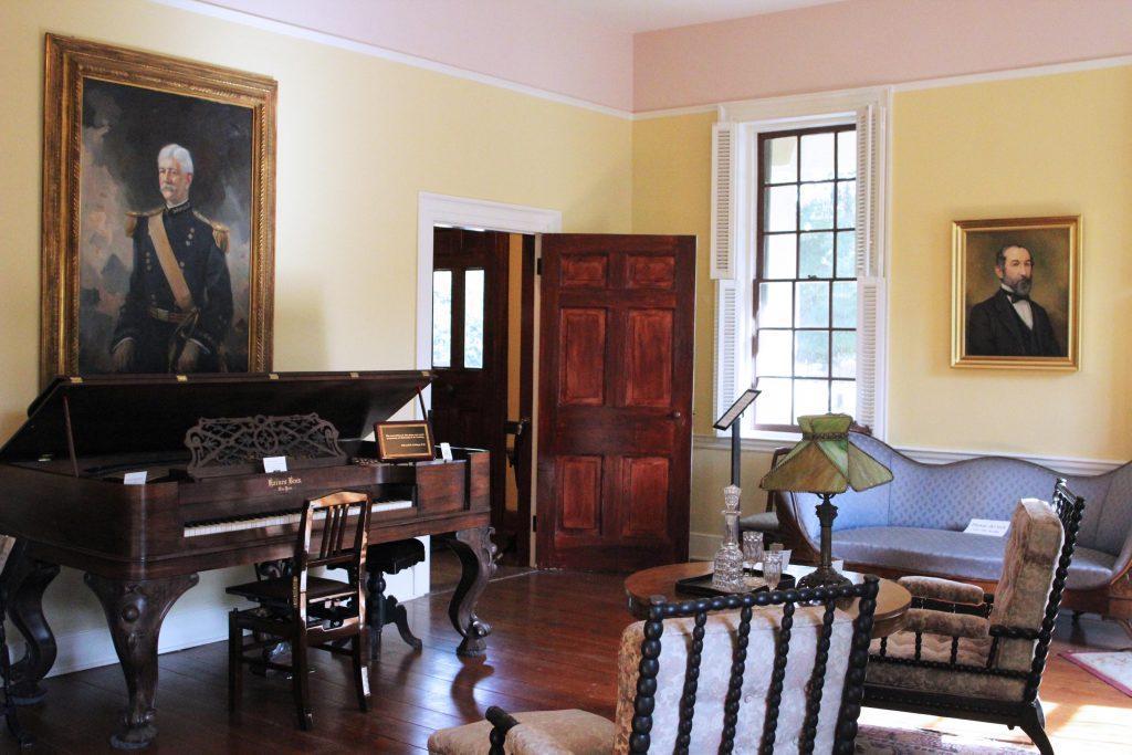 Gorgas House piano room